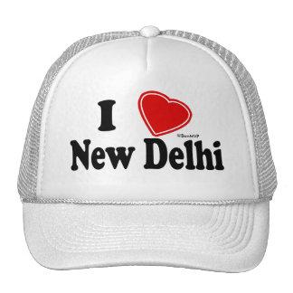 I Love New Delhi Trucker Hat