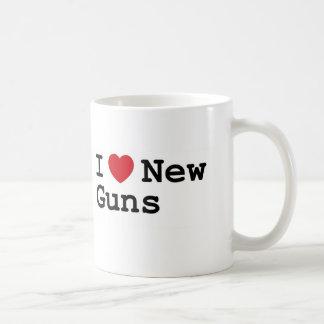 I love new guns! coffee mug