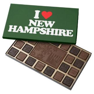 I LOVE NEW HAMPSHIRE ASSORTED CHOCOLATES