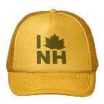 I Love New Hampshire Ball Cap Hats