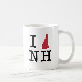I Love New Hampshire Coffee Mugs
