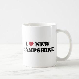 I Love New Hampshire Classic White Coffee Mug