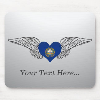 I Love New Hampshire -wings Mouse Pad