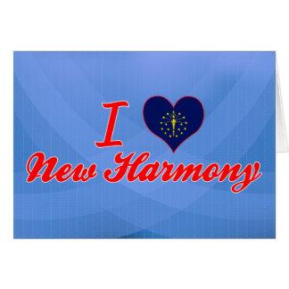 I Love New Harmony, Indiana Greeting Card
