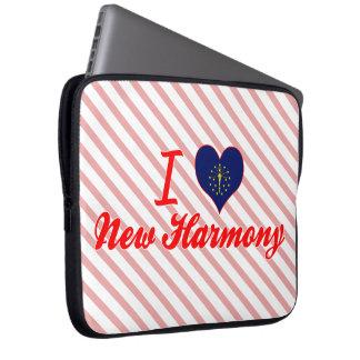 I Love New Harmony, Indiana Computer Sleeve