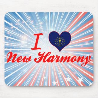 I Love New Harmony, Indiana Mousepad