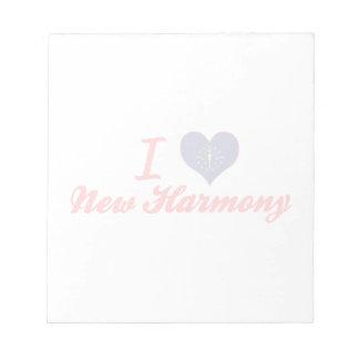I Love New Harmony, Indiana Memo Pads