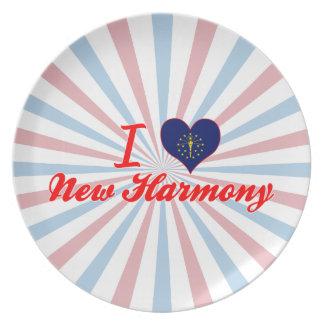 I Love New Harmony, Indiana Plates