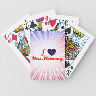 I Love New Harmony, Indiana Playing Cards