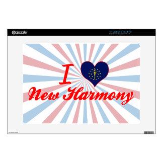 I Love New Harmony, Indiana Laptop Skins