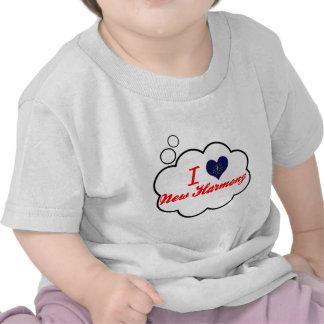 I Love New Harmony, Indiana Tee Shirts