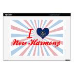 "I Love New Harmony, Utah 15"" Laptop Decal"
