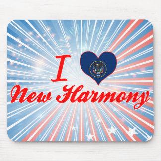 I Love New Harmony, Utah Mouse Pad