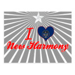I Love New Harmony, Utah Postcards