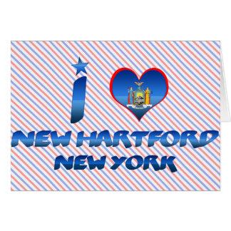 I love New Hartford, New York Greeting Card