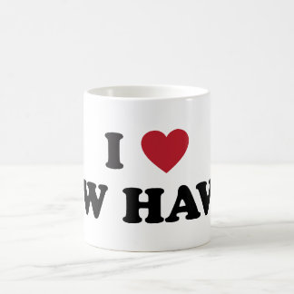 I Love New Haven Connecticut Coffee Mugs