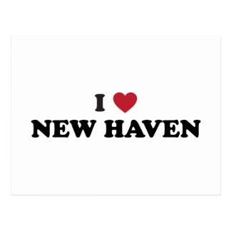 I Love New Haven Connecticut Postcard