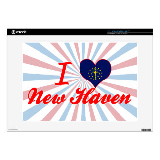 I Love New Haven Indiana Laptop Skin