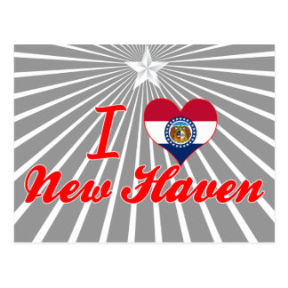 I Love New Haven, Missouri Postcard
