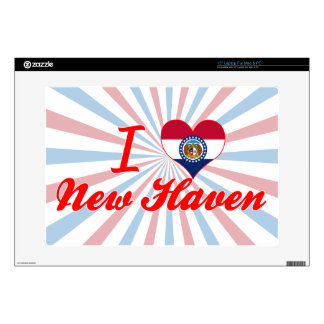 I Love New Haven Missouri Decal For Laptop