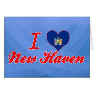 I Love New Haven, New York Greeting Card