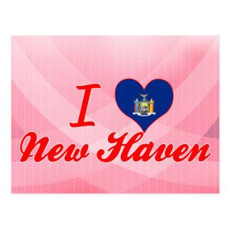 I Love New Haven, New York Postcard