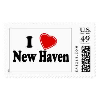 I Love New Haven Postage Stamp