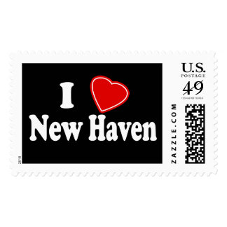 I Love New Haven Stamps