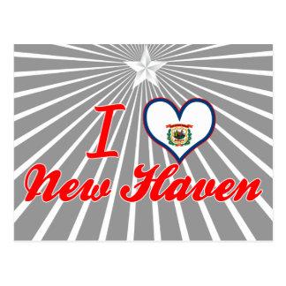 I Love New Haven, West Virginia Postcard