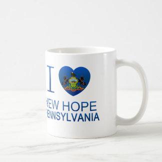 I Love New Hope, PA Classic White Coffee Mug