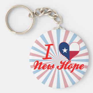 I Love New Hope, Texas Key Chains