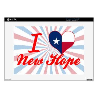"""I Love New Hope, Texas Skins For 15"""" Laptops"""