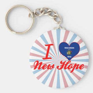 I Love New Hope, Wisconsin Key Chains