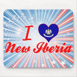 I Love New Iberia, Louisiana Mousepad