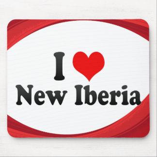 I Love New Iberia, United States Mousepads
