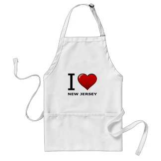I LOVE NEW JERSEY APRONS