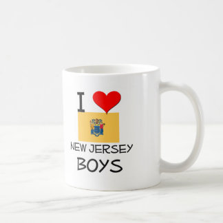 I Love New Jersey Boys Mugs
