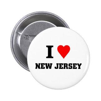 I love New jersey Pins