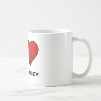 I LOVE NEW JERSEY CLASSIC WHITE COFFEE MUG