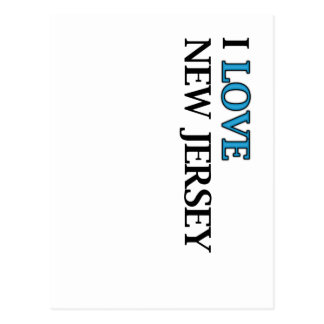 I Love New Jersey Design Postcard