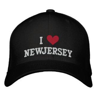 I LOVE NEW JERSEY BASEBALL CAP