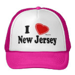I Love New Jersey Hat