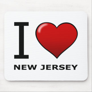 I LOVE NEW JERSEY MOUSE PAD