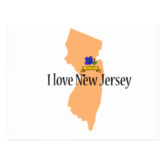I love new jersey product postcard