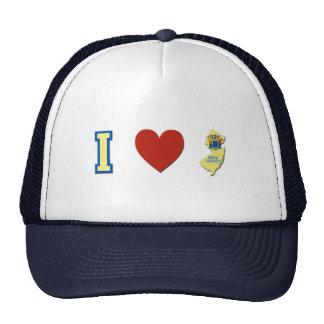 I Love New Jersey Trucker Hat