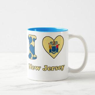 I love New Jersey Two-Tone Coffee Mug