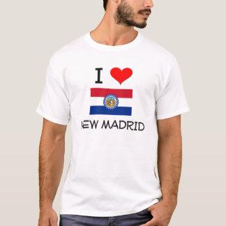 I Love New Madrid Missouri T-Shirt