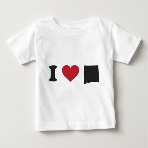 I Love New Mexico Baby T_Shirt