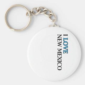 I Love New Mexico Design Keychain