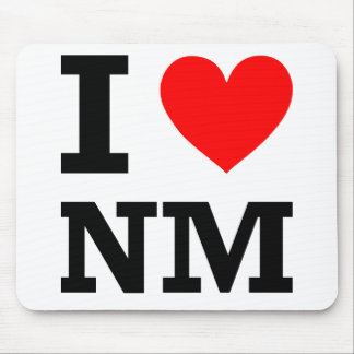 I Love New Mexico Design Mouse Pad